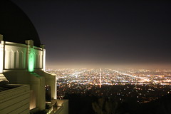 ObservatoryAndDowntown (dL-chang) Tags: city night losangeles griffithobservatory downtownlosangeles