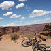 Mountain Biking on Shafer Trail
