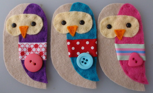 owl embellishments by paper-and-string-on-flickr