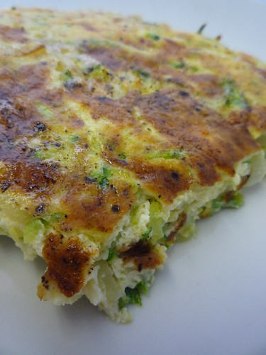 Courgette Frittata by you.