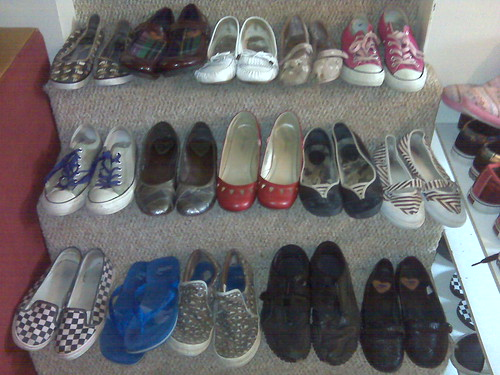 task #85 own only 5 pairs of shoes