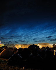 Midnight Clouds (Flxzr) Tags: night clouds blimp tinthepark kintyre balado noctilucent lastfm:event=701873