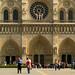 Arrivant Notre Dame