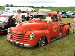 1951 Chevrolet pickup rat rod (geognerd) Tags: truck illinois pickup ratrod elburn 1951chevrolet 2009countrycarshow