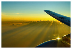 Journey of Lights / Fények útján (FuNS0f7) Tags: dawn flight sonycybershotdscf828 cloudslightningstorms