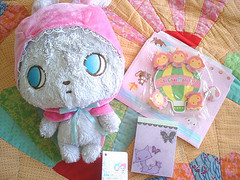 Penpal Swap Sent To abbie_chan ( Veronica ) Tags: japan plush sanrio swap sanx
