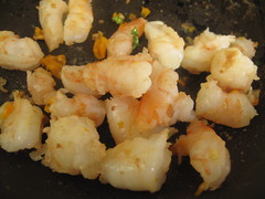 Chiled prawns
