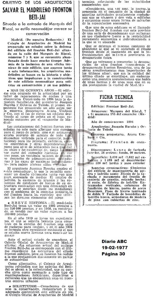 Diario ABC 19-02-1977