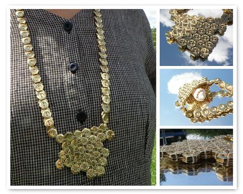 Honeycomb Amulet Bag