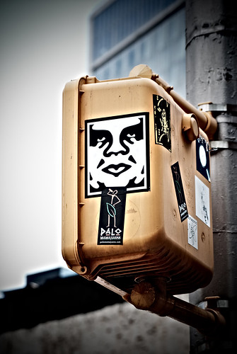 Andre the Giant Obey sticker. (Creative Commons/joo0eys Flickr Photostream)