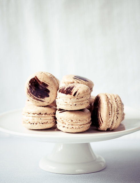 Coffee Chicory Macarons