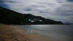 Zhuhai - Moonlit Diamond Beach, Dong'Ao Island (cnmark) Tags: china light moon beach nature night reflections river landscape geotagged island hotel bay noche long exposure nacht jetty estuary diamond moonlit guangdong noite moonlight pearl  wan dao nuit notte zhuhai southchinasea nachtaufnahme   blueribbonwinner allrightsreserved nansha dongao theunforgettablepictures  platinumheartaward theperfectphotographer   geo:lat=22020567 geo:lon=113699999