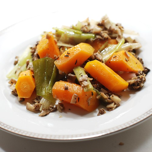 Oven-Steamed Veggies
