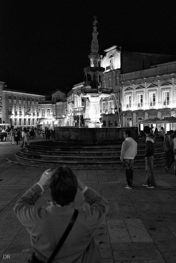 Chafariz na Praça da República em Viana do Castelo