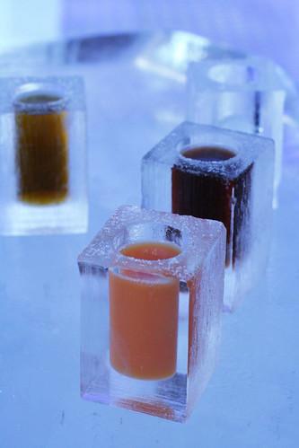 icebar tokyo: cocktails