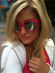 Do you love my sunglasses? (ijustine) Tags: mobile blog iphone iphonephoto takenwithaniphone
