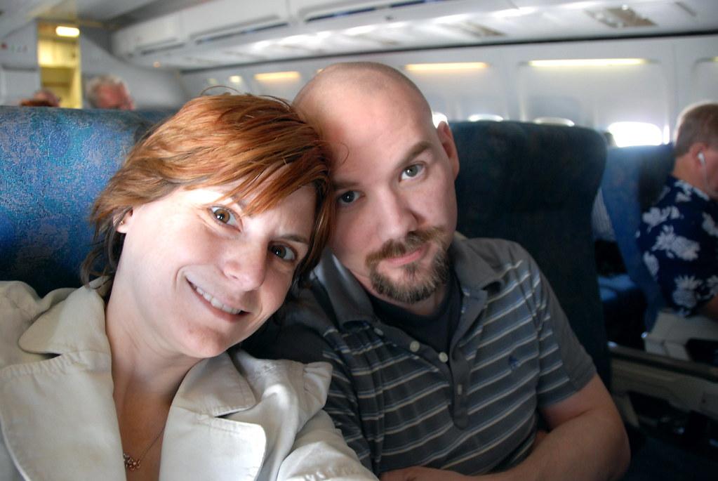 Hawaii Trip: Flight to Phoenix