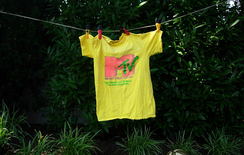 The very first MTV T-shirt, 1981