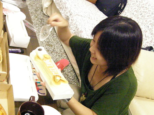 你拍攝的 【SP550】切蛋糕。