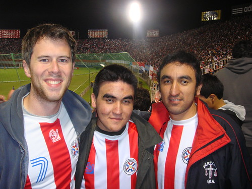 Paraguayan Friends at the Game