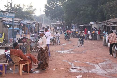 Pô town, southern Burkina Faso.
