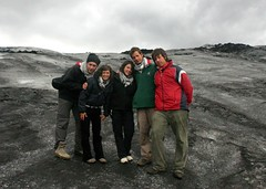 Roverway 09 Iceland (292) - Glaciar Solheimajokull