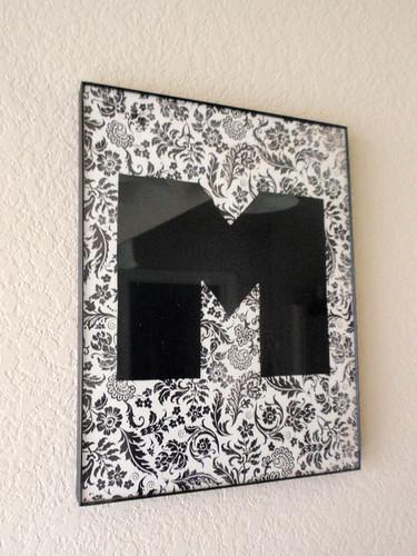 DIY Initial Frame
