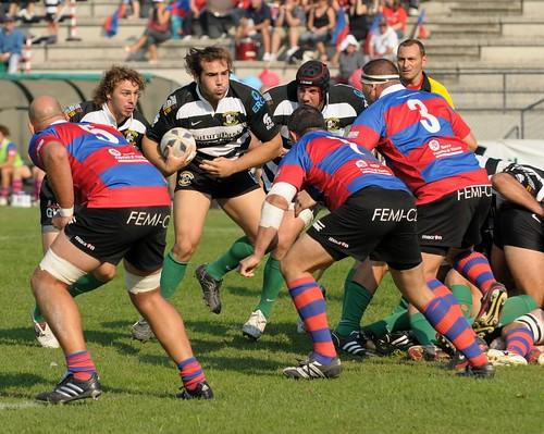 Tommaso D'Apice, tallonatore della Rugby Roma - foto DAK