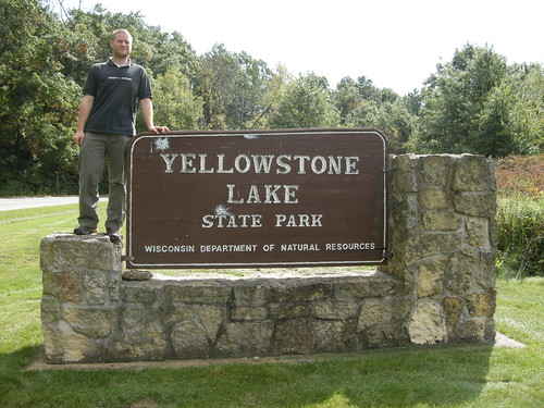 Eddie at Yellowstone Lake State Park