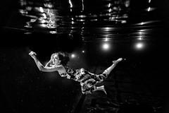 speak light dear dark. (SARA LEE) Tags: colour reflection texture pool girl face swimming model university pattern underwater dress flash hannah sharp clear sync chapman sarahlee legothenego hannaht hannahthomas vivantvie