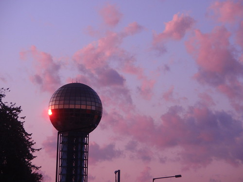 sunsphere sunset