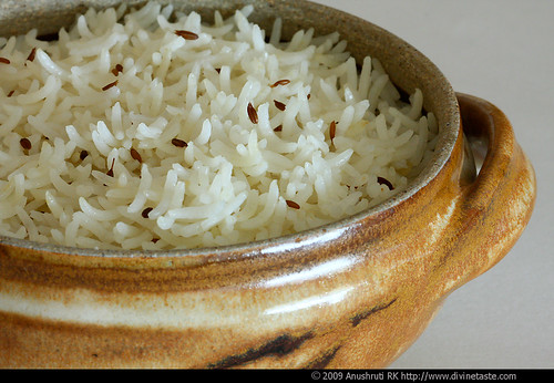Jeera Pulao/Cumin Pilaf And The Magic Of Cumin seeds