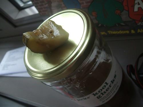 free pickles!