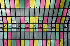 colored glass roof @ rathausgalerien innsbruck austria (Toni_V) Tags: abstract architecture österreich europe 2009 innsbruck d300 2028 mariatheresienstrasse toniv rathausgalerien dsc4080 091010