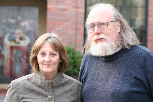 Barry Toon and Jan Quigley