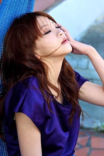 フリー画像| 人物写真| 女性ポートレイト| アジア女性| 目を閉じる| 台湾人|      フリー素材|