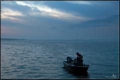 Fisherman (Volkerak) (BraCom (Bram)) Tags: fishing fisherman visser explore vissen noordbrabant stphilipsland oostzijde deltawerken hoeksewaard krammer hollandsdiep volkerakdam zoommeer schelderijnkanaal volkeraksluizen goerreeoverflakkee bracom zoetwatermeer bramvanbroekhoven