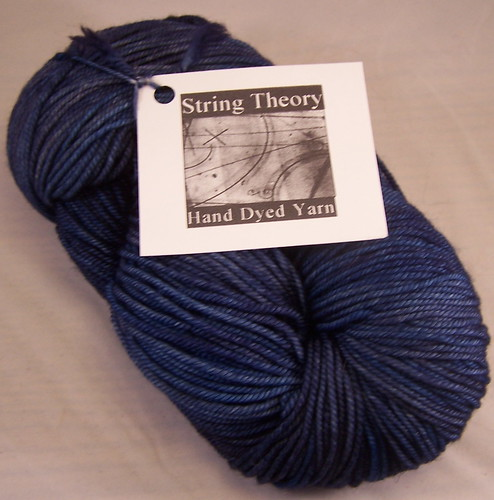 String Theory Caper Sock - Navy