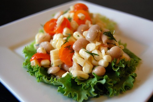 Corn Bean Salad