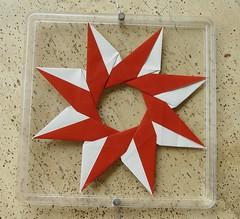 Ring 13 A von Tomoko Fuse - Vorderseite (Tagfalter) Tags: origami ring tomokofuse