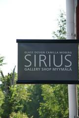 Camilla Moberg - Sirius gallery shop カミラ・モーベルグの作品とアトリエ兼ショップ・フィスカルス