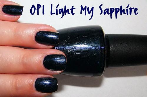 OPI Light My Sapphire