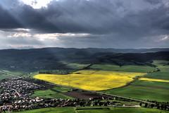 Vista dalla torre del castello di Spis. (socrates197577) Tags: nikon nuvole paesaggi hdr paesaggio nuvoloso photomatix