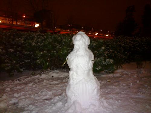 Office snowman