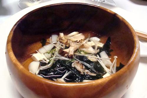 Mushroom Dashi, Maitake, Shimeji, Enoki Mushrooms