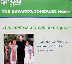 the homeowners participated in construction (via In habitat)