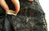 Vintage Half Slip (vintage-13) Tags: black sexy vintage dark tricot lace sold small mint retro 1940s 1950s short moviestar glam slip lacey 1960s lacy nylon madmen halfslip joanholloway lyzzieetsycom