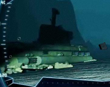 2010 LEGO Atlantis - Submarine