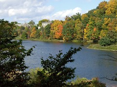 Fall colors, Beebe Lake