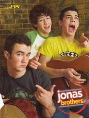 Jonas Brothers 2005 Rare (xxomg_its_mexx) Tags: 2005 old baby silly cute its magazine poster funny kevin time brothers nick young joe scan nicholas jb about jonas bros rare joesph j14